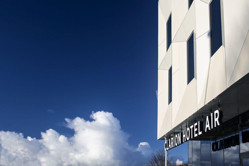 Clarion Hotel acélszerkezeti festése7